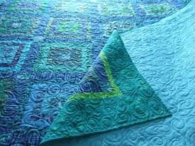 Blue Donation Quilt